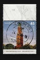 BUND - Mi-Nr. 2612 Leuchtturm Bremerhaven Oberfeuer Gestempelt (2) - Gebraucht