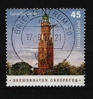 BUND - Mi-Nr. 2612 Leuchtturm Bremerhaven Oberfeuer Gestempelt (9) - Gebraucht