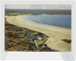 29) Dossen - Santec.- (Nord Finistère) La Grande Plage  - (Vue Aérienne - Oblitération De 1983) - France