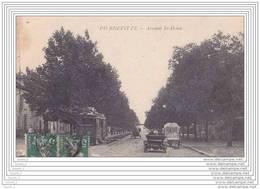 93) Pierrefitte.- Avenue De St - Denis  - (animée + Tamway) - Pierrefitte Sur Seine