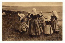 Cpa Dansende Kinderen Op' T Duin - Danses