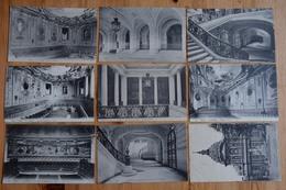 Paris - La Sorbonne - 9 CPA - Salle Du Doctorat - Grand Escalier - Vestibule - Grand Amphithéâtre - Etc. (n°13262) - Education, Schools And Universities