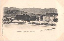 FR66 BANYULS SUR MER - Py Oliver - La Plage - Barques De Pêche - Belle - Banyuls Sur Mer
