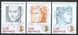 Monaco - 2009  - Association Dante Alighieri -  N° 2691/2692/2693  - Neuf ** - MNH - Monaco