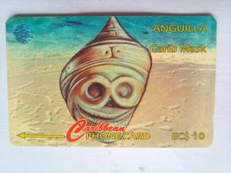 4CAGA  Shell EC$10 - Anguilla