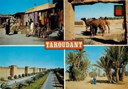 MAROC  TAROUDANT    Souvenir  4   (scan Recto-verso)MA1955Ter - Marrakech