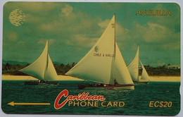 69CAGB Sailboat EC$20 - Anguilla