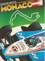 MONACO, Principato - Grand Prix F1 - Talbot Gitanes - Publicité