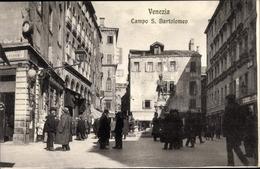 Cp Venezia Venedig Veneto, Campo S. Bartolomeo - Italien