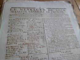Journal Révolution Le Messager Du Soir Gazette Europe N°194 24/03/1797 France,Allemagne,Russie, Angleterre.. - Zeitungen - Vor 1800