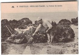 14 Trouville Le Pecheur De Moules Peche à Pied Moule - Trouville