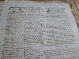 Journal Révolution Le Messager Du Soir Gazette Europe N°182 22/03/1797 France,Allemagne, Italie, Autriche Suisse Batave. - Zeitungen - Vor 1800