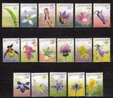 Slovenia 2007 Flora - Full Serial MNH - Slovénie