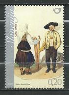 Slovenia 2007 Folk Costumes.MNH - Slovénie