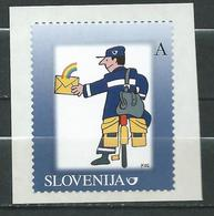Slovenia 2007 Personalized Stamps - Self-Adhesive. MNH - Postman - Slovénie