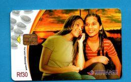 MALDIVES - Chip Phonecard - Kazachstan