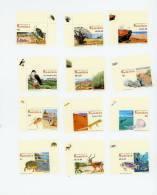 Namibie-2007-Grenouille,o Tarie,coquillage,coléoptère,méduse,...YT 1097/108***MNH-Avec Bord De Feuille - Namibie (1990- ...)