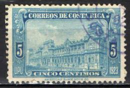 COSTARICA - 1923 - IMMAGINI DI COSTARICA - USATO - Costa Rica