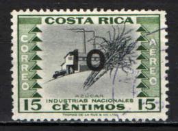 COSTARICA - 1962 - FRANCOBOLLO SOVRASTAMPATI - OVERPRINTED - USATO - Costa Rica
