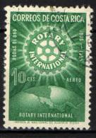 COSTARICA - 1956 - 50° ANNIVERSARIO DEL ROTARY INTERNATIONAL - USATO - Costa Rica