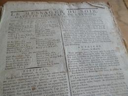Journal Révolution Le Messager Du Soir Gazette Europe N°237 16/05/1797 France,Portugal, Espagne, Autriche.. - Journaux - Quotidiens