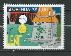 Slovenia 2007 Festival Lent. MNH - Slovénie