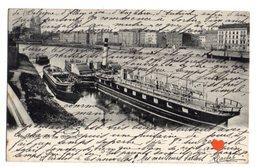 23551-LE-ALLEMAGNE-Magdeburg Von Der Elbseite-----------bateaux-péniche - Magdeburg