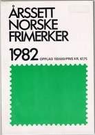 Norwegen 1982, Michel# 853 - 875 ** - Ganze Jahrgänge