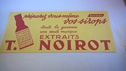 BUVARD Sirop T NOIROT - Limonades