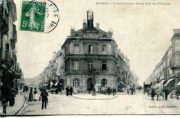 N°65048 -cpa Saumur -la Poste, La Rue Balzac- - Postal Services