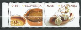 Slovenia 2007 Traditional Food. MNH - Gastronomy - Slovénie