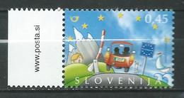 Slovenia 2007 Slovenia's Entry Into The Schengen Area. MNH - Slovénie
