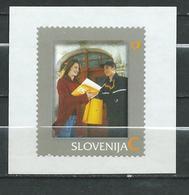 Slovenia 2007 Personalized Stamps - Self-Adhesive MNH - Postal Services,postman - Slovénie
