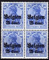 Belgio-287 - Emissione 1916-18 (++) MNH - Senza Difetti Occulti. - Esercito Tedesco