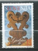 Slovenia 2002 - Greeting Stamp. MNH - Slovénie