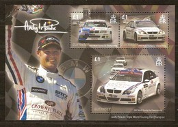 Guernsey Guernesey  2007  Bloc Andy Priaulx World Touring Car Champion *** MNH - Guernesey