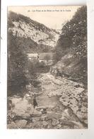 Les Usses Et Les Bains Au Pont De La Caille--(C.7066) - France