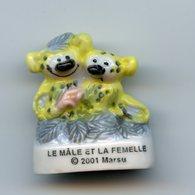 "FEVE - FEVES -    ""MARSU 2001"" - LE MALE ET LA FEMELLE - Strips"