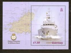 Guernsey Guernesey 2003 Yvertn° Bloc 51 *** MNH Cote 8,00 Euro Bateaux Boten Ships - Guernesey
