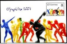 Guernsey Guernesey  2004 Yvertn° Bloc 55 *** MNH Cote 5,00 Euro Sport - Guernsey