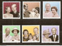 Guernsey Guernesey  2007  Yvertn° 1154-1159   *** MNH Cote 12 Euro Queen Elizabeth II - Guernesey