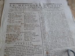 Journal Révolution Le Messager Du Soir Gazette Europe N°248 27/05/1797 France,Turquie Autriche,  .. - Journaux - Quotidiens