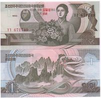 Korea North - 1 Won 1992 2007 UNC Comm. Lemberg-Zp - Corée Du Nord