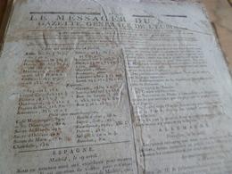 Journal Révolution Le Messager Du Soir Gazette Europe N°233 12/05/1797 France,Espagne Allemagne, Autriche .. - Zeitungen - Vor 1800