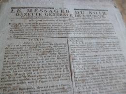 Journal Révolution Le Messager Du Soir Gazette Europe N°521 21/03/1797 France Italie .. - Zeitungen - Vor 1800