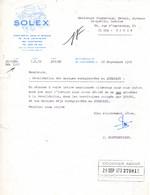 SOLEX NANTERRE 1972 - Andere