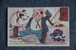 BUDOU : - Tiens, Je Croyais Que C'était Toi Qui Portait La Culotte.... - Autres Illustrateurs