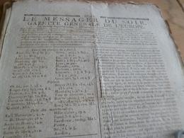 Journal Révolution Le Messager Du Soir Gazette Europe N°215 24/04/1797 France Italie Allemagne Suisse .. - Zeitungen - Vor 1800