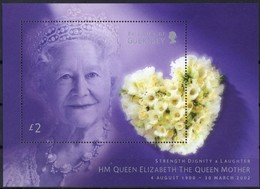 Guernsey Guernesey 2002 Yvertn° Bloc 48 *** MNH Cote 10 Euro Queen Mother - Guernesey