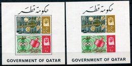 1966 - QATAR- ESPACE    - 2 S.S. M.N.H. LUXE !!- - Qatar